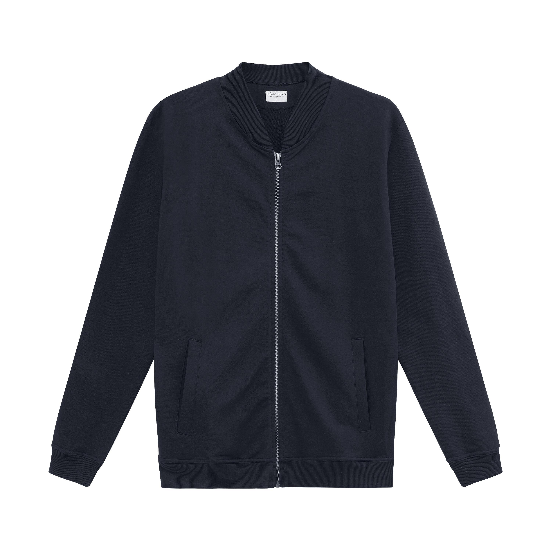 416204_Man_Jersey Jacket_dark-navy